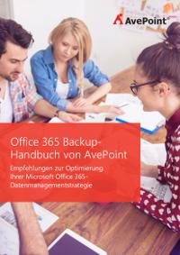 Office 365 Backup - Handbuch von AvePoint
