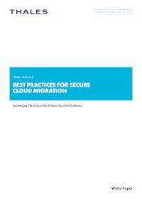 Best Practices for Secure Cloud Migration