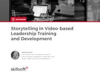 Storytelling in Video-based Leadership Training and Development
