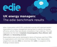 UK Energy Managers: The edie Benchmark Result