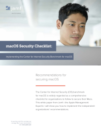 macOS Security Checklist