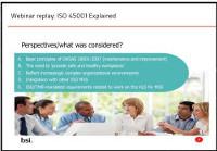 [Webinar] ISO 45001 Explained