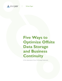 5 Ways to Optimise Offsite Data Storage and Business Continuity