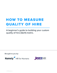 How to Measure Quality of Hire