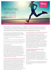 How Can Employers Promote Workplace Wellness?