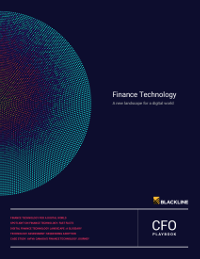 Finance Technology: A New Landscape for a Digital World