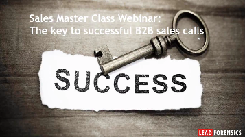 Sales Masterclass Webinar: Key to Successful B2B Sales Calls