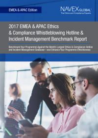 2017 EMEA Whistleblower & Incident Management Benchmark Report