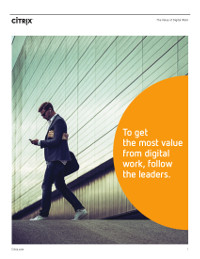 To Get the Most from Digital Work, Follow the Leaders
