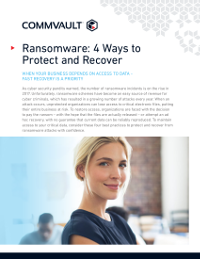 Ransomware: 4 Ways to Protect and Recover