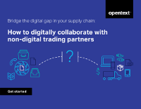 How to Digitally Collaborate with Non-Digital Trading Partners