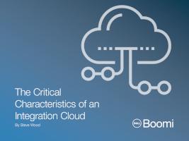 The Critical Characteristics of an Integration Cloud