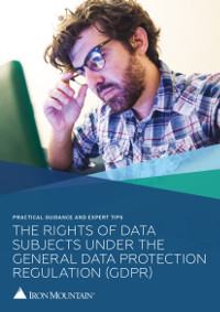 The Rights of Data Subjects under the General Data Protection Regulation
