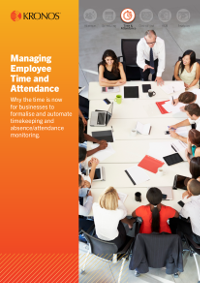 Managing Employee Time and Attendance