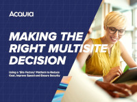 Making the Right Multisite Decision
