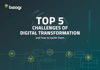 Die 5 größten Herausforderungen von digitaler Transformation – und wie Sie damit umgehen können