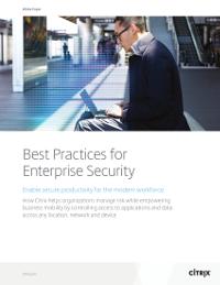 Best Practices for Enterprise Security