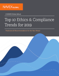 Top 10 Ethics & Compliance Trends for 2019
