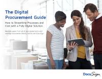 The Digital Procurement Guide
