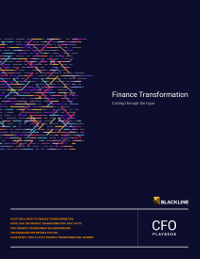 Finance Transformation: Cutting Through the Hype